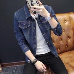 Mẫu áo khoác jean bụi bặm, cá tính