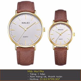 Đồng hồ cặp dây da - 7081 thumbnail