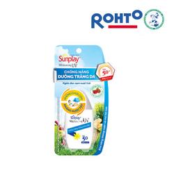Sunplay Whitening UV SPF50, PA++++: Sữa chống nắng, dưỡng da trắng đẹp