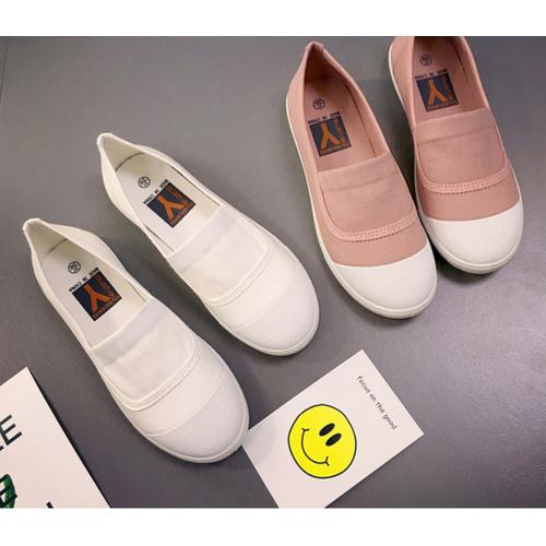 Giày Slip on nữ vải  thoáng mát , giày lười, giày mọi  hè 2018 –SLV20