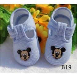 Giày tập đi hình micky cho bé trai và bé gái