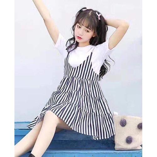 Đầm Yếm Thun