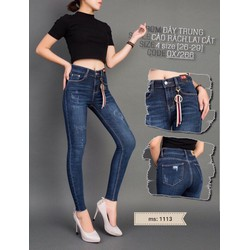 QUẦN JEANS NỮ CAO GIẢN CAO CẤP