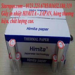 Giấy in nhiệt K80 HIMITA-JAPAN chất lượng tốt giao hàng nhanh miễn phí