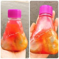 Slime 3 màu nhũ hủ 2 trăm gam