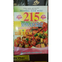Sách - Hướng Dẫn Nấu 215 Món Ăn Chay