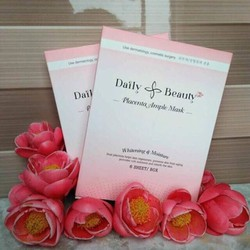 Mặt nạ nhau thai cừu Daily Beauty hộp 6 miếng