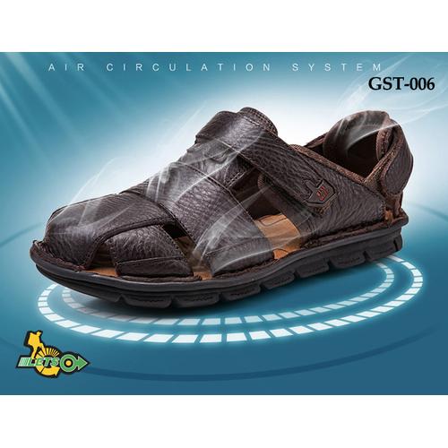 Giày sandal bít mũi da bò Wise Sheep 38-46 GST-006 - 11105129 , 9668801 , 15_9668801 , 520000 , Giay-sandal-bit-mui-da-bo-Wise-Sheep-38-46-GST-006-15_9668801 , sendo.vn , Giày sandal bít mũi da bò Wise Sheep 38-46 GST-006