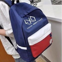 Balo EXO thời trang vải bố sành điệu đi chơi đi học