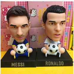 Mô hình ronaldo và messi