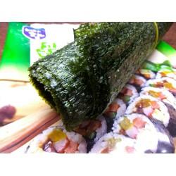Rong biển Hàn Quốc cuộn cơm kimbap sushi gói 10 lá