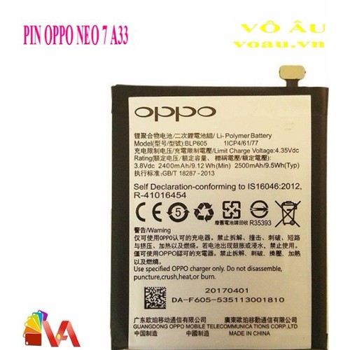 PIN OPPO NEO 7 A33