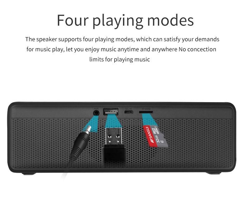 Loa Bluetooth Bass âm Thanh Sống Động chuẩn HIFI PKCB-5510 - PKCB-5510 6