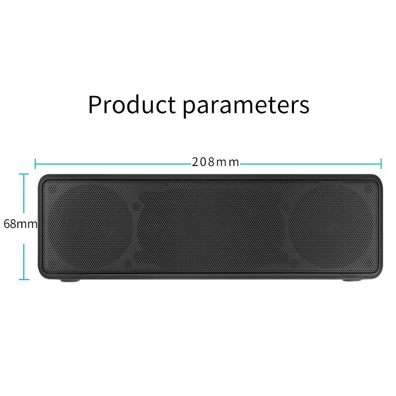 Loa Bluetooth Bass âm Thanh Sống Động chuẩn HIFI PKCB-5510 - PKCB-5510 3