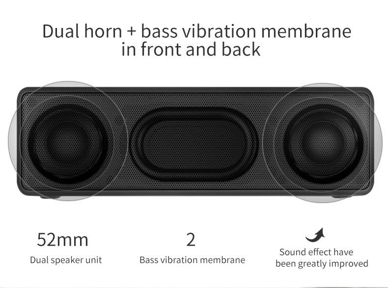 Loa Bluetooth Bass âm Thanh Sống Động chuẩn HIFI PKCB-5510 - PKCB-5510 4