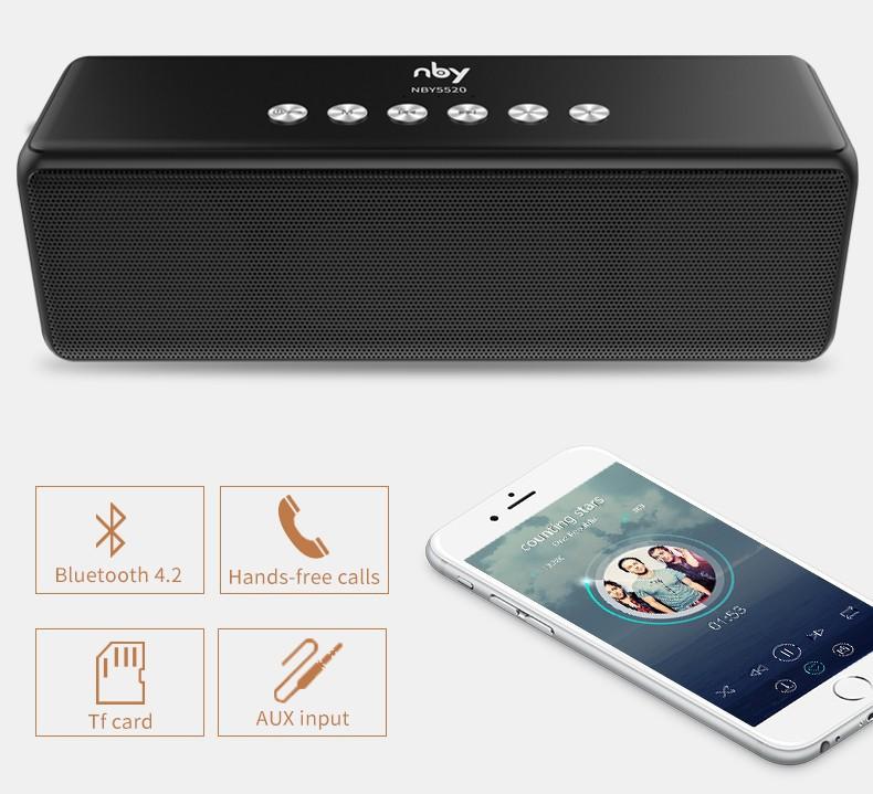 Loa Bluetooth Bass âm Thanh Sống Động chuẩn HIFI PKCB-5510 - PKCB-5510 9