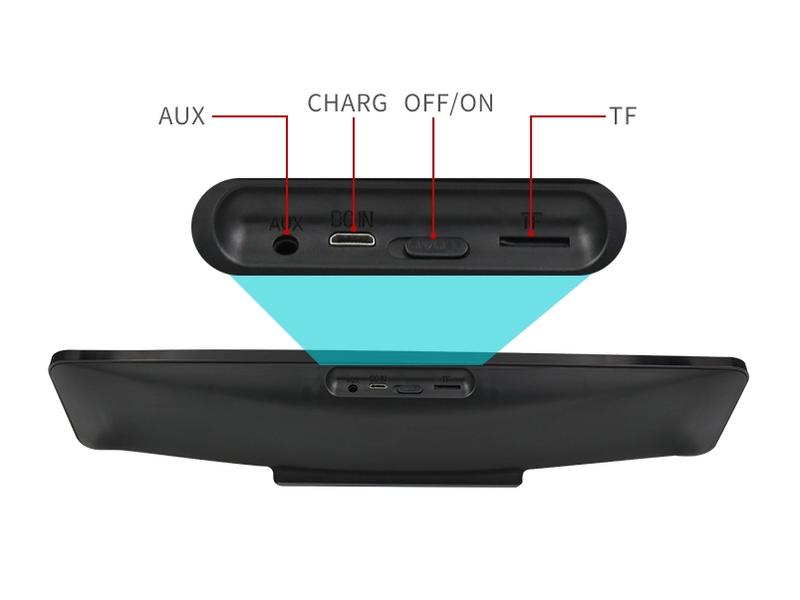 Loa Bluetooth Bass âm Thanh Sống Động chuẩn HIFI PKCB-5530 2