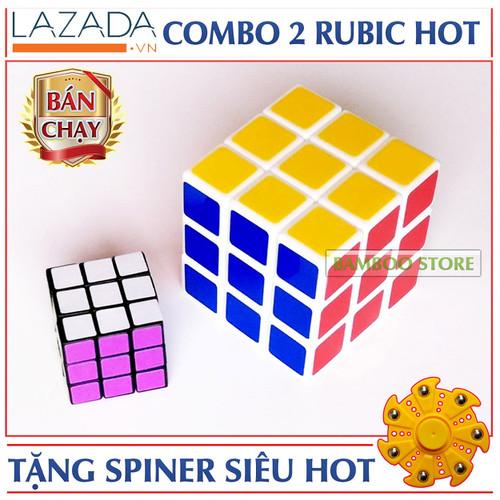 Bộ đồ chơi Rubik 3x3x3 kèm 1 Rubik nhỏ + Tặng con quay Spiner - 5019162 , 9671009 , 15_9671009 , 52000 , Bo-do-choi-Rubik-3x3x3-kem-1-Rubik-nho-Tang-con-quay-Spiner-15_9671009 , sendo.vn , Bộ đồ chơi Rubik 3x3x3 kèm 1 Rubik nhỏ + Tặng con quay Spiner
