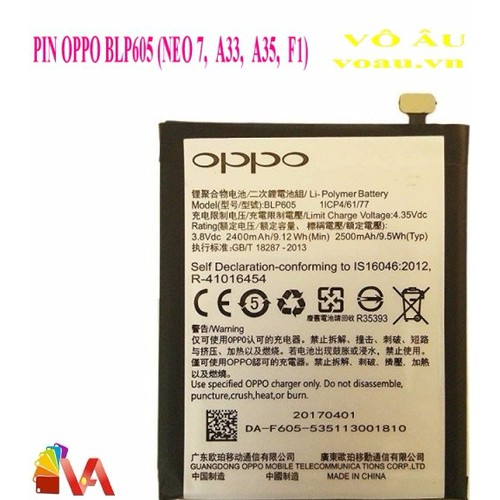 PIN OPPO BLP605