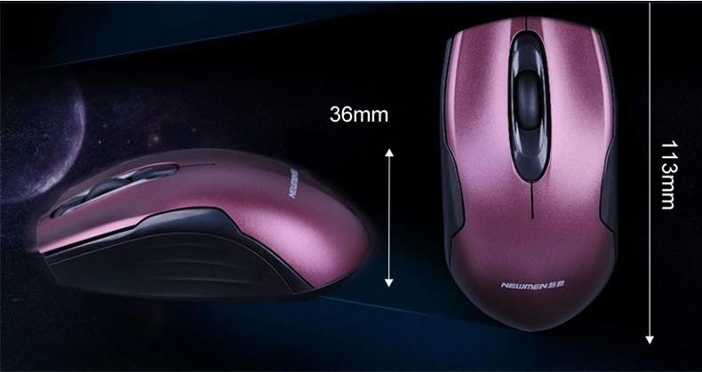 Newmen - Chuột quang không dây 2.4Ghz thế hệ 2 F266 7