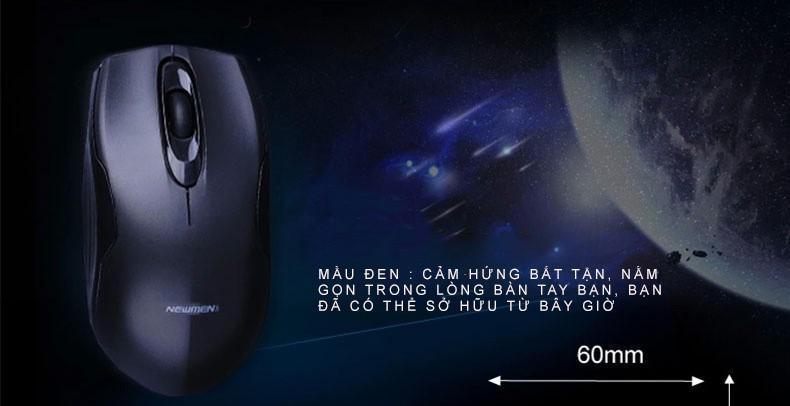 Newmen - Chuột quang không dây 2.4Ghz thế hệ 2 F266 9