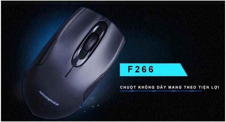 Newmen - Chuột quang không dây 2.4Ghz thế hệ 2 F266 23