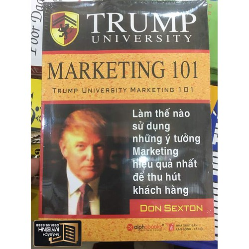 Trump University Marketing 101 - 5711524 , 9669431 , 15_9669431 , 49000 , Trump-University-Marketing-101-15_9669431 , sendo.vn , Trump University Marketing 101