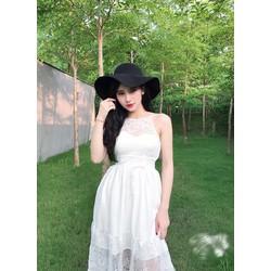 Đầm Maxi Ren Hot