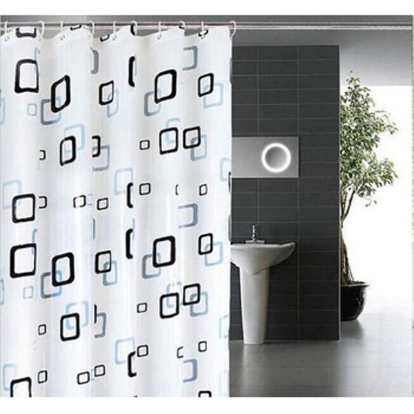 Rèm nhà tắm EVA dài 2m không thấm nước 2