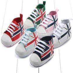 giày tập đi cho bé trai hình cờ