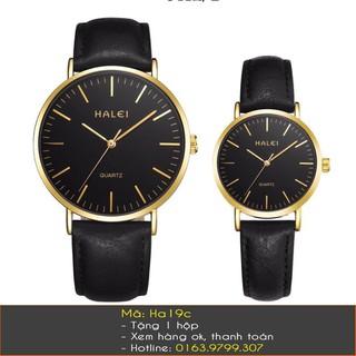Đồng hồ đôi dây da chống nước - 236 thumbnail