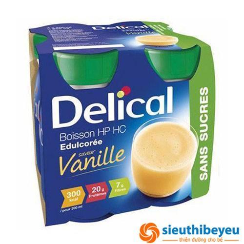 Sữa cho người bị ung thư, tiểu đường Delical