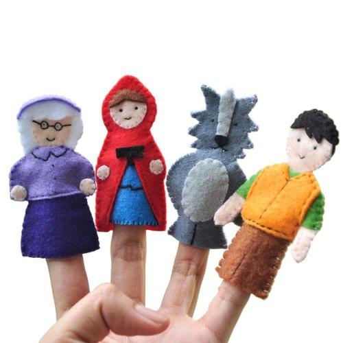 Rối ngón tay Cô Bé Quàng Khăn Đỏ - 5711708 , 9669793 , 15_9669793 , 119000 , Roi-ngon-tay-Co-Be-Quang-Khan-Do-15_9669793 , sendo.vn , Rối ngón tay Cô Bé Quàng Khăn Đỏ