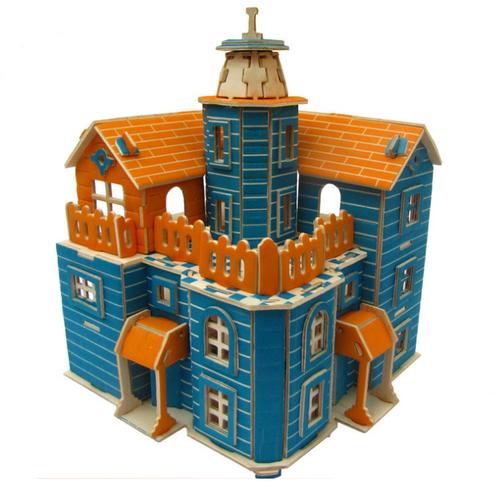 Đồ chơi lắp ráp gỗ 3D Mô hình Beach House