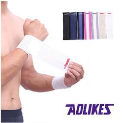 Băng quấn cổ tay hỗ trợ khi chơi thể thao, tập Gym AOLIKE