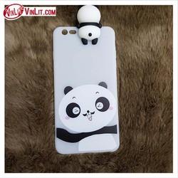 Ốp lưng Iphone 6 6s plus 7 8 plus x hình Panda thú nổi xinh xắn