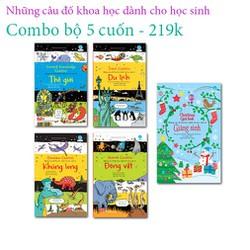 Sách - Những câu đố khoa học dành cho học sinh Combo bộ 5 cuốn - 219k
