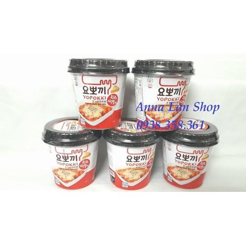 Combo 3 ly Bánh gạo Topokki phô mai - Hàn Quốc