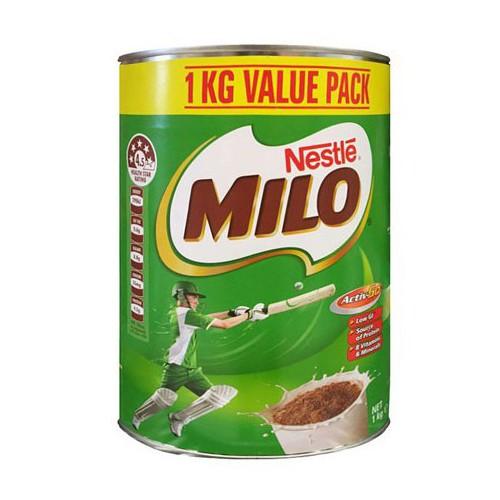 Sữa milo úc 1kg mẫu mới