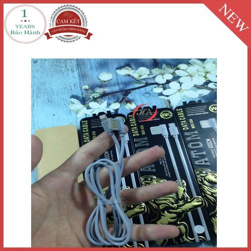 Cáp iphone WK HAWDC - 036 ATOM trắng