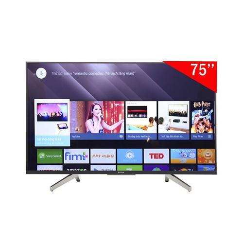 Mới Nhất Android Tivi Sony 4k 75 Inch Kd 75x8500fs Kèm Khuyến Mãi