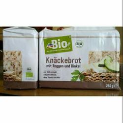 Bánh mì lúa mạch giòn hữu cơ hiệu DM Bio
