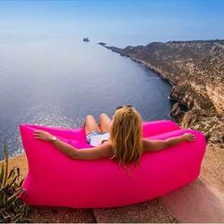 Túi gió du lịch vừa làm ghế làm gường hoặc phao bơi