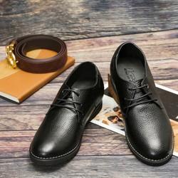 Giày Công Sở Phong Cách Trẻ SG086D màu Nâu và Đen