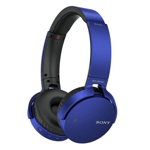 Tai nghe Bluetooth Sony MDR-XB650BT Xanh - Hãng phân phối chính thức
