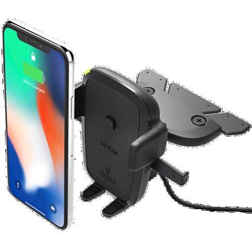 Giá đỡ điện thoại trên ô tô, xe hơi sạc nhanh không dây một chạm gắn ổ CD - iOttie, Wireless Fast Charging CD Slot  {HÀNG CHÍNH HÃNG} - 5919645 , 9990623 , 15_9990623 , 2499000 , Gia-do-dien-thoai-tren-o-to-xe-hoi-sac-nhanh-khong-day-mot-cham-gan-o-CD-iOttie-Wireless-Fast-Charging-CD-Slot-HANG-CHINH-HANG-15_9990623 , sendo.vn , Giá đỡ điện thoại trên ô tô, xe hơi sạc nhanh không dây