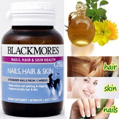 Viên uống vitamin Blackmore Nail Hair and Skin