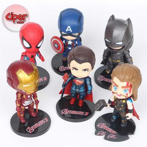Bộ 6 nhân vật Avengers Nendoroid