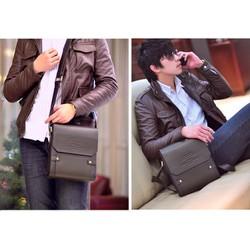 Túi đeo chéo đựng ipad thời trang hàng hiệu cá tính PL10