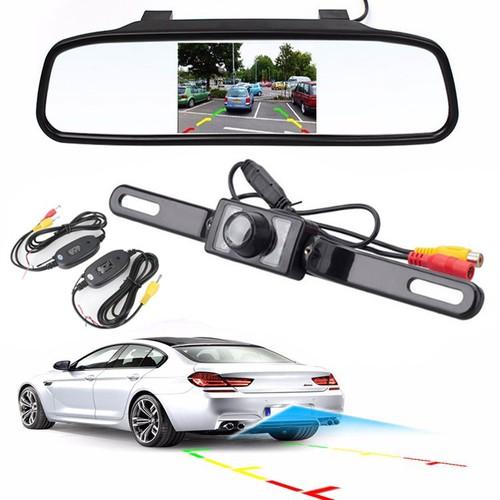 Màn Hình Gương Và Camera Lùi Xe Ô Tô
